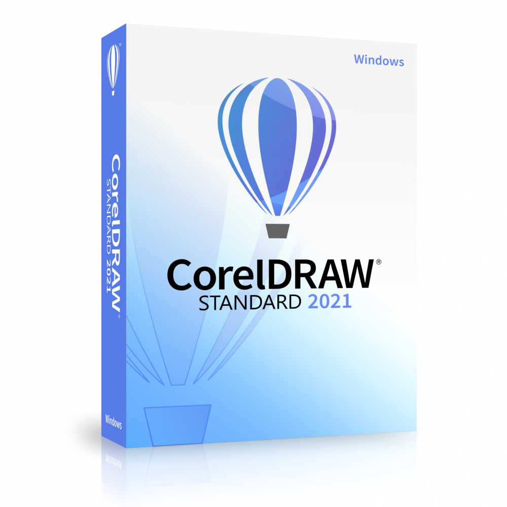 CorelDRAW Standard 2021 License (100-250)