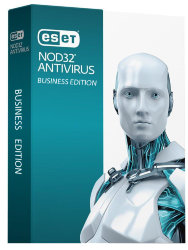 ESET NOD32 Antivirus Business Edition newsale for 102 users за 8 874 руб.
