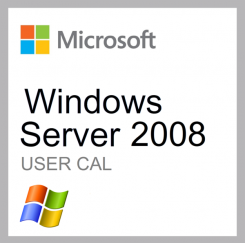 Microsoft Windows Server 2008 User CAL 5 Clt