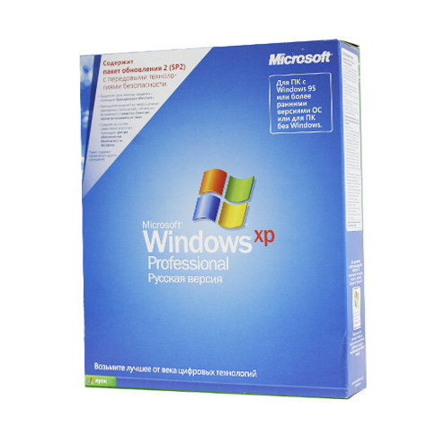 Microsoft Windows XP Professional (x32) RU BOX
