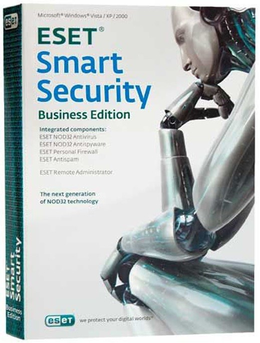 ESET NOD32 Smart Security Business Edition newsale for 80 users за 10 000 руб.