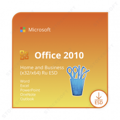 Microsoft Office 2010 Home and Business (x32/x64) RU ESD