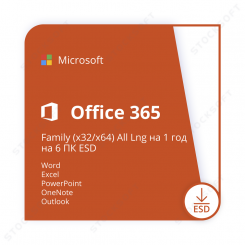 Microsoft 365 Family (x32/x64) All Lng ESD